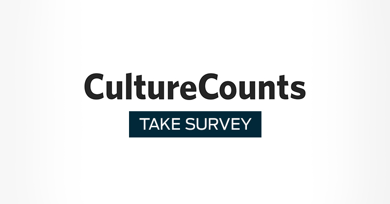 Have your say in the Culture Counts Survey